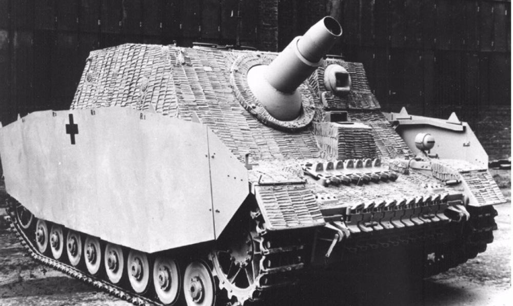 IV «Бруммбэр» - штурмовая немецкая САУ 150-мм