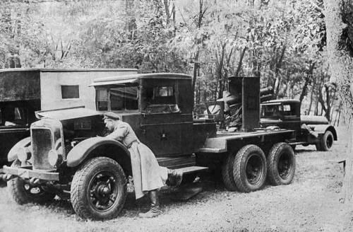 СУ-12 на базе грузовика «Морланд»