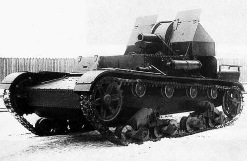 САУ СУ-5 - легкая самоходная артиллерийская установка