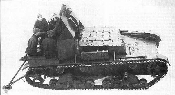 САУ СУ-5-3 с 152-мм мортирой