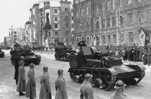СУ-5-2 в Хабаровске на военном параде