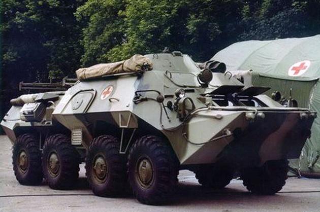 БММ-80 «Симфония» (ГАЗ-59039) - бронированная медицинская машина
