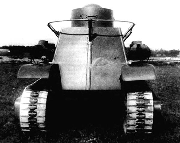 БА-30 - полугусеничный бронеавтомобиль 1930-х годов