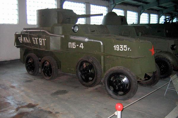 Бронеавтомобиль ПБ-4 в Кубинке