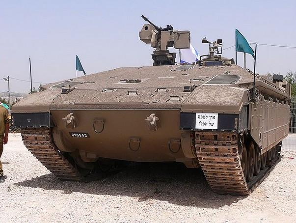 'Namer' - израильский бронетранспортер
