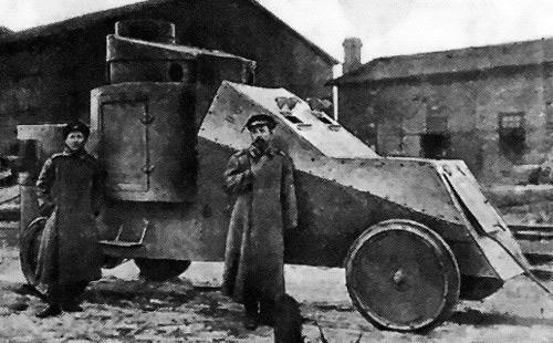 'Мгебров-Рено' - бронеавтомобиль царской армии