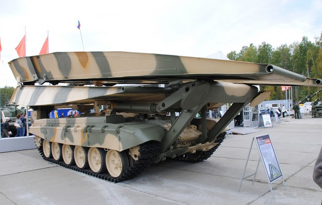 МТУ-90М - модернизированный танковый мостоукладчик