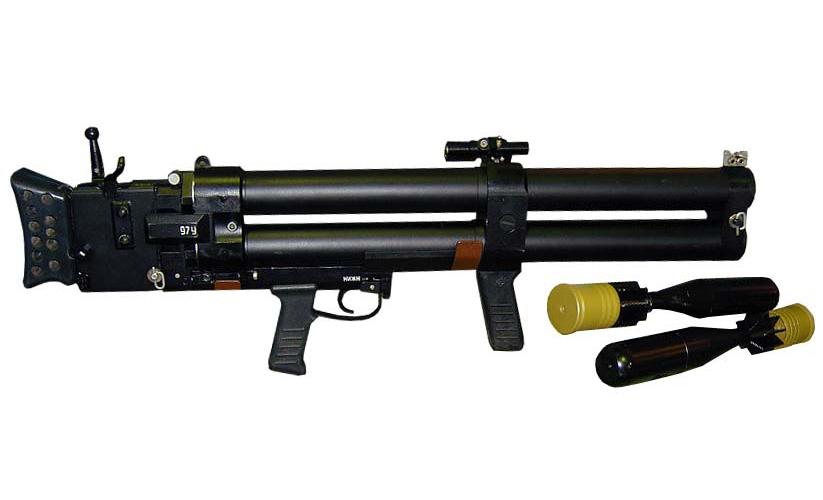 ДП-64 «Непрядва» - двуствольный противодиверсионный гранатомет
