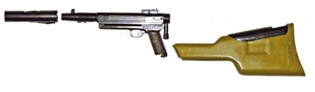 «Дятел» (Изделие «Д») - гранатомет-пистолет