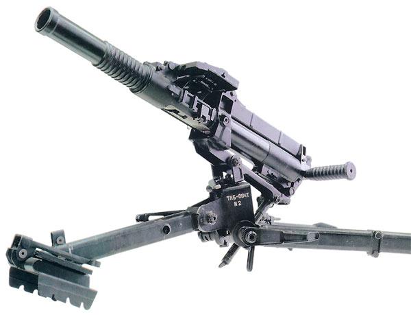 40-мм автоматический станковый гранатомет ТКБ - 0134 «КОЗЛИК» на пехотном станке