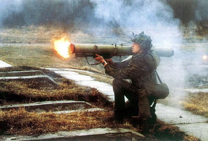 РПО «Рысь» - реактивный пехотный огнемет