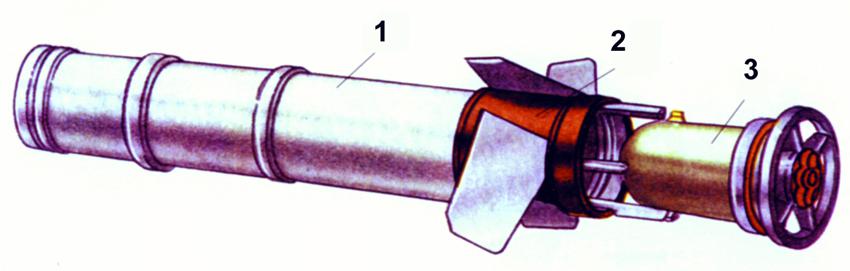Огнеметный выстрел РПО «Рысь» (без контейнера)