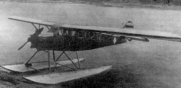 АИР-6 - пассажирский самолет