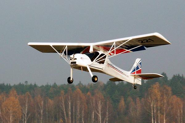 Фото летящего МАИ-223 'Китенок'