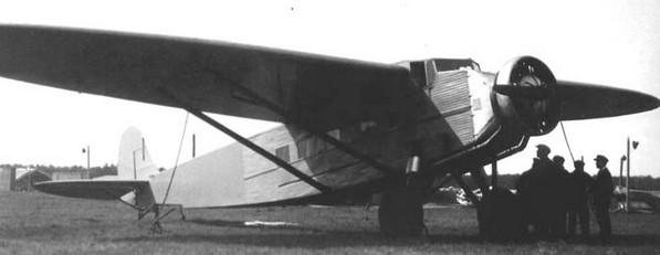 Самолет К-5 с двигателем М-22