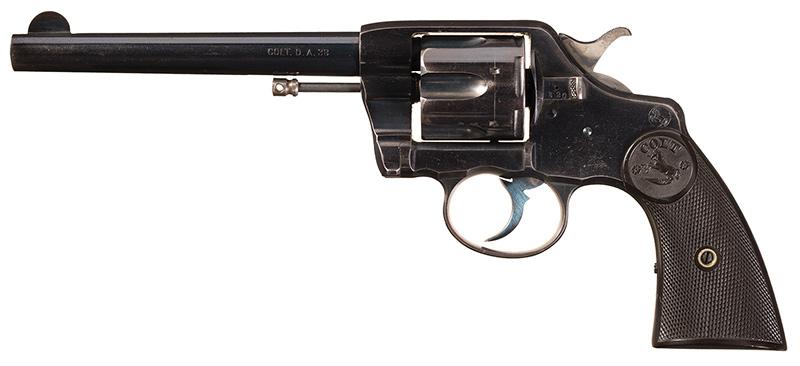Револьвер «Кольт Нью Арми/Нэви», вид слева