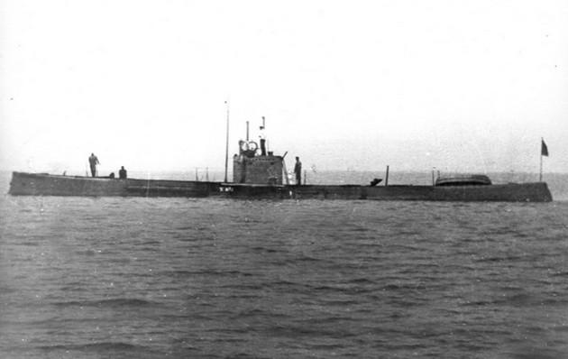 Подводная лодка 'Фельдмаршал Граф Шереметьев' тип 'Касатка'