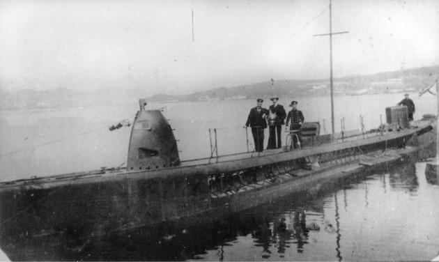 Первоначальный облик субмарины 'Касатка'. Дальний Восток.