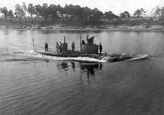 Подводная лодка «Сиг». Балтийский флот.