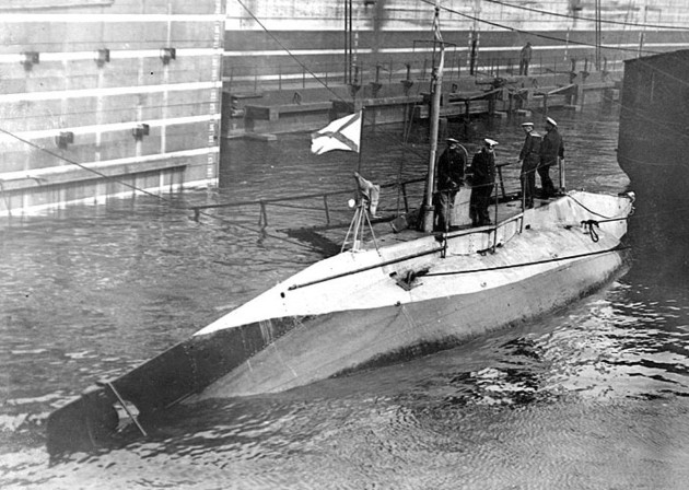 Подводные лодки типа «Сом» 1904 - 1906 годов