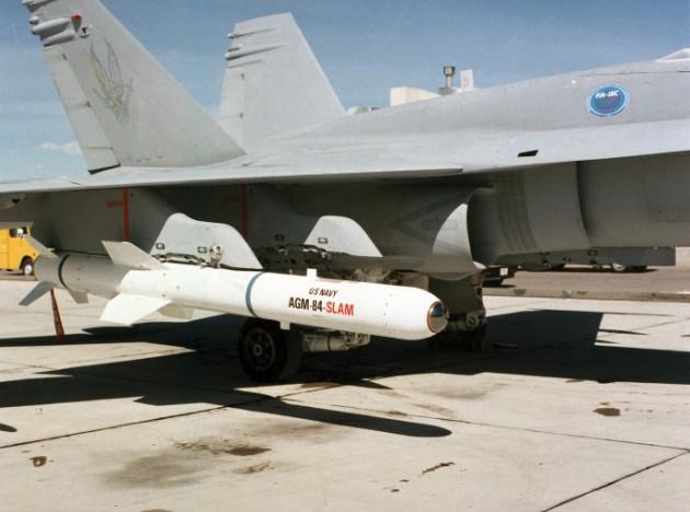 Авиационный вариант ракеты 'Гарпун'