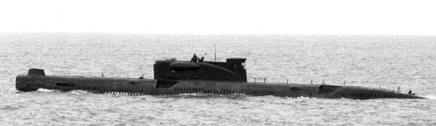 ПЛРК пр. 651 с ракетами П-5