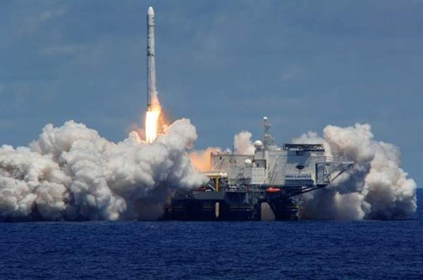 Ракетно-космический комплекс 'Морской старт'. Ракета 'Зенит-3SL'