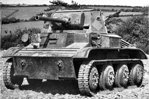 Mk VII «Тетрарх» лёгкий аэротранспортабельный танк