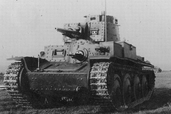 Фашистский танк PzKpfw 38(t) производства Чехословакии