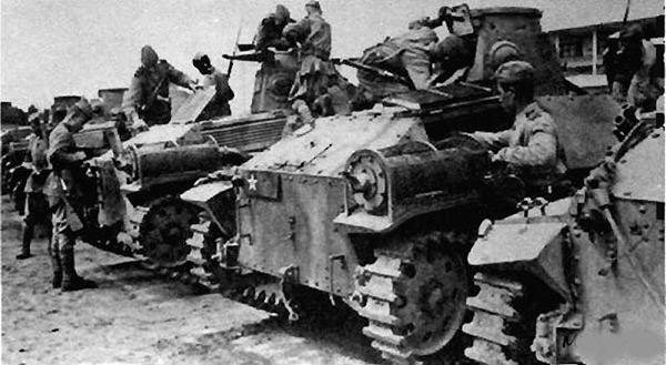 Японский танк Тип 95 'Ха-Го' (Киуго) Второй Мировой войны
