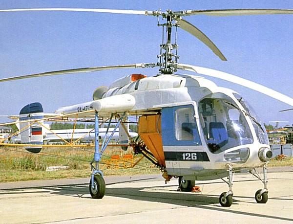 Ка-126 - вертолет с газотурбинным двигателем