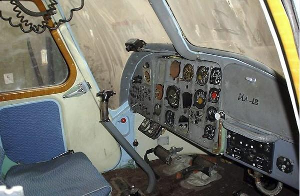 Приборная панель вертолета Ка-18