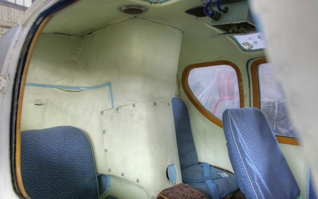 Пассажирский салон вертолета Ка-18