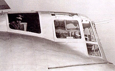 Кабина летчиков Ка-22