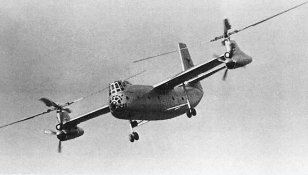 Ка-22 (Проект «X») - советский винтокрыл