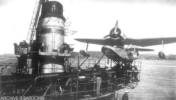 Корабельный разведчик КОР-2 (Бе-4) на крейсере 'Молотов'