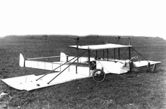«Би-Кок» - самолет-разведчик Пороховщикова