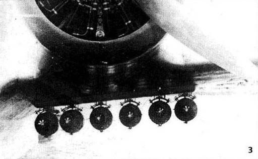 Подвеска бомб на МДР-6