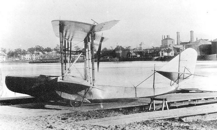 Гидросамолет М-5