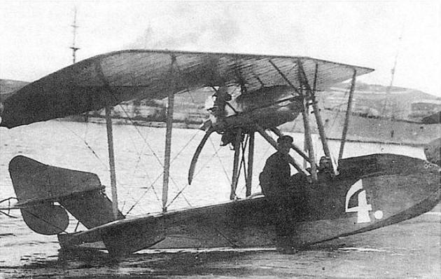Морской самолет М-11, на котором летал Прокофьев-Северский