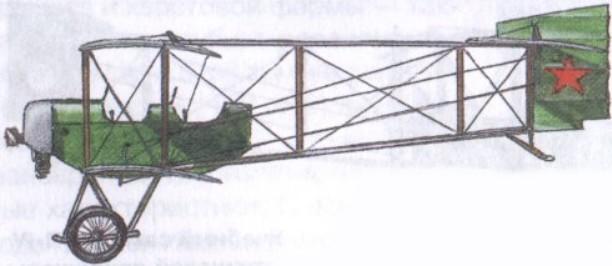 Учебный самолет П-IV-2-бис авиации РККА (1921г.)