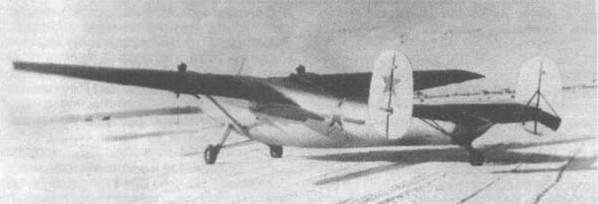 Ще-2 - военно-транспортный самолет