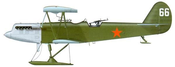 ССС (Р-5ССС) ВВС РККА участвовавший в советско-финской войне