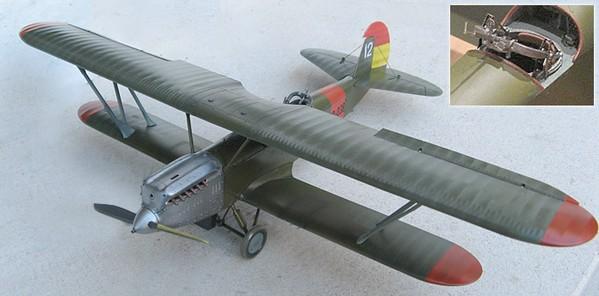 Модель самолета ССС (Р-5ССС)