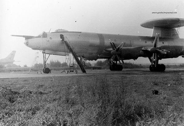Ту-126 - самолет ДРЛО