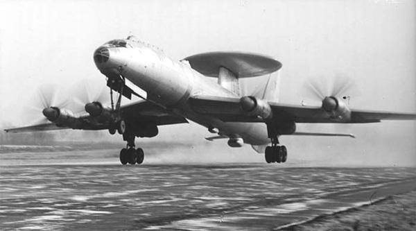 Ту-126 - летающая лаборатория ЛЛ-А