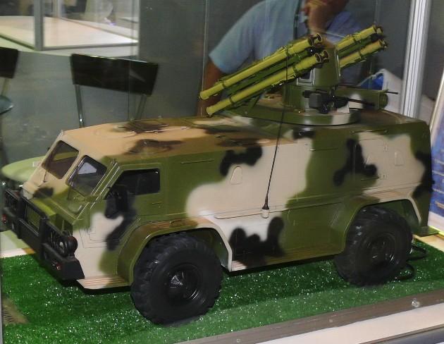 МД-ПС - зенитно-ракетный комплекс малой дальности