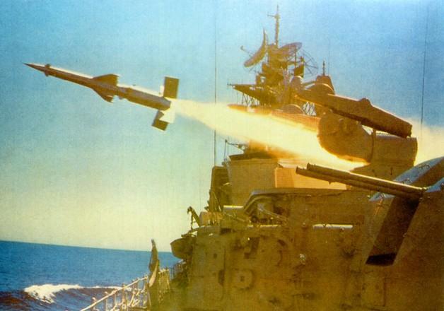 ЗРК М-1 «Волна» (4К90) - зенитно-ракетный комплекс корабельного базирования