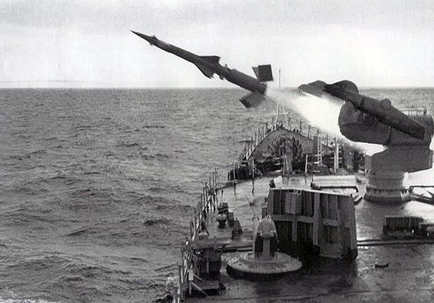 Пуск ракеты В-601 ЗРК М-1 «Волна»