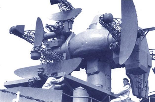 Антенный пост РЛС управления 'Ятаган' ЗРК М-1 «Волна»